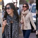 8 modi di indossare la sciarpa