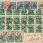 I francobolli tedeschi: Francobolli nella Grande Guerra