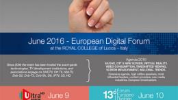 Forum Europeo Digitale Lucca 2016