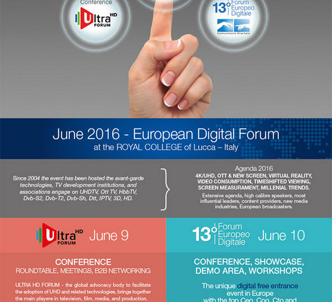 Forum Europeo Digitale Lucca 2016