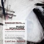 """""""I volti della materia"""" personale di Mario Schiavone a Cantina Moros"""