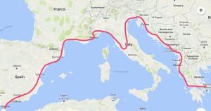 TheCarbonCyclist_Mappa di viaggio