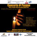 Il Concerto di Pasqua 2019 di Noi per Napoli ed i suoi progetti