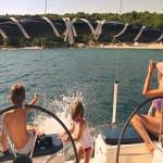 Weekend in barca a vela con la famiglia