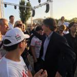 Marchini Festa Cuore il Candidato Sindaco ha risposto alle domande dei cittadini